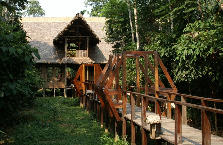 A jungle hideaway in the Peruvian Amazon