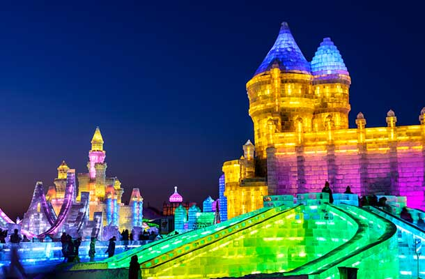 Experience the International Ice and Snow Festival in Harbin