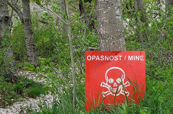 Landmine Danger in Croatia - How to Stay Safe