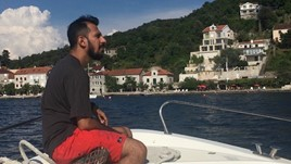 Kaushal on assignment in the Balkans