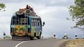 Falling in Love With Indonesian Buses