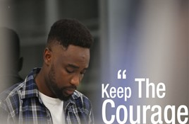 KEEP THE COURAGE