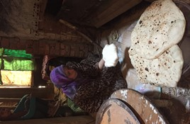 Country bread making