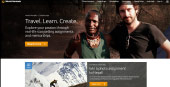 Example of a World Nomads web page template.