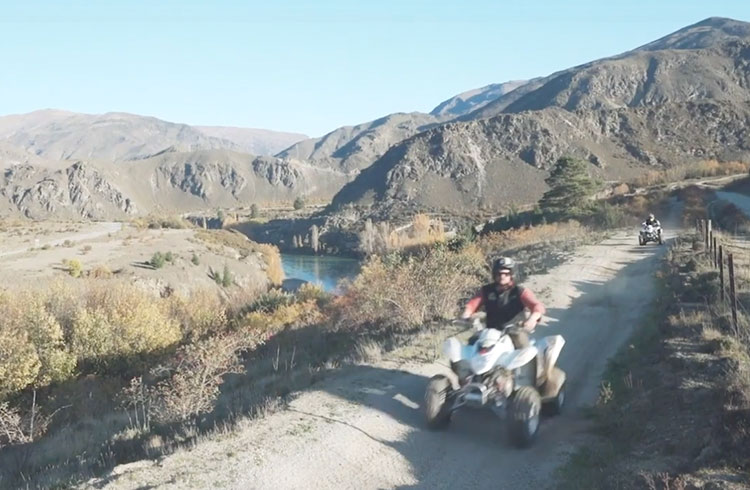 New Zealand Discoveries: Hit the Mud Quad Biking