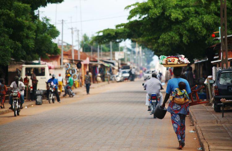 Streets of Ouidah, Benin