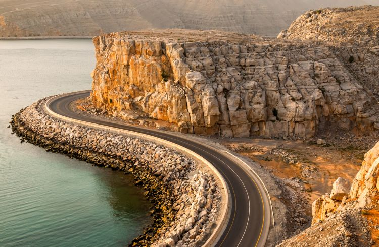Road in Oman